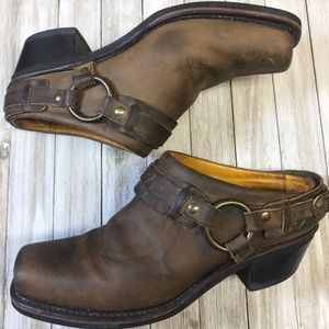 Frye Mule Boots 10